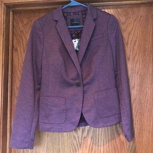 Purple Blazer- winter/fall style